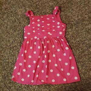 3/$12 Pink polka dot dress
